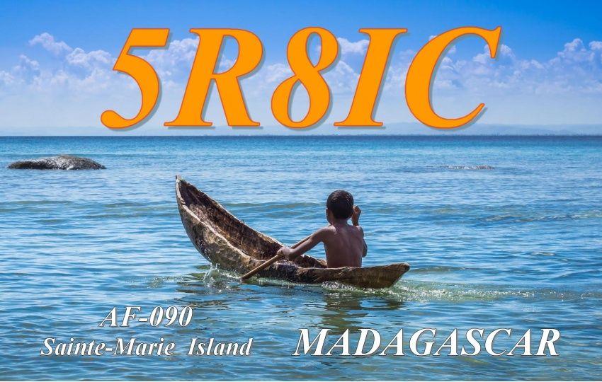 Остров Сент Мари 5R8IC QSL