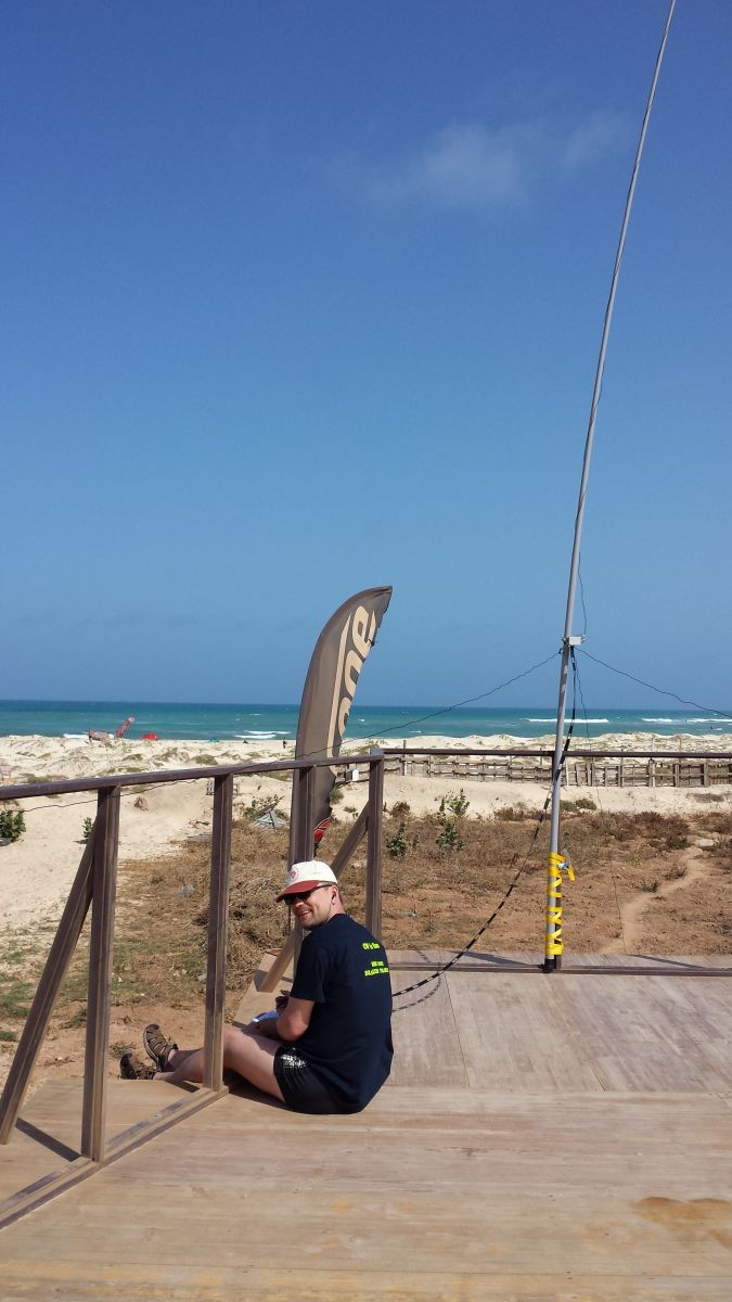 Sal Island Cabo Verde Cape Verde Santa Maria Beach Antenna