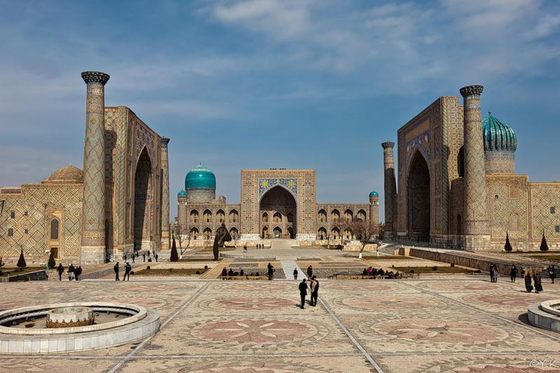Samarkand Uzbekistan UK/UA1ZEY