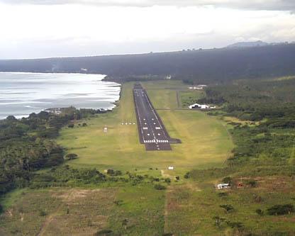Samoa 5W0JK 5W0QQ 5W0X Airport