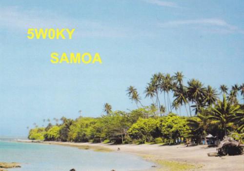 Самоа 5W0KY