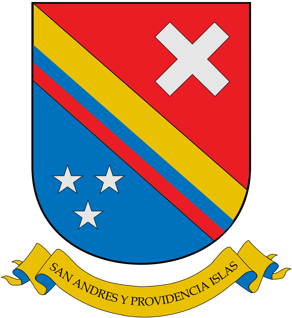 San Andres Island Coat of Arms of San Andres Archipelago