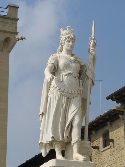 Сан Марино T70A DX Новости Статуя Свободы