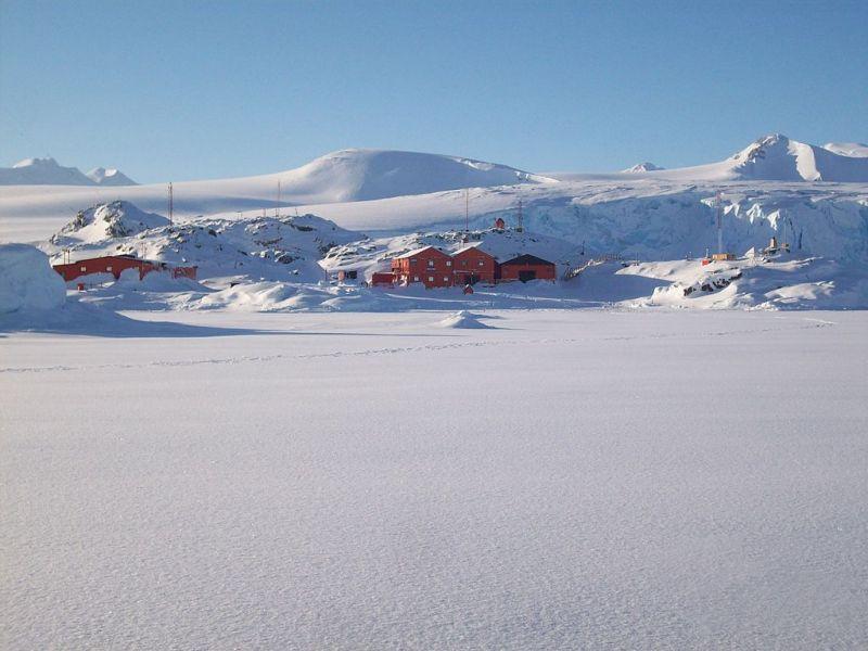 Станция Сан Мартин Остров Барри Антарктида LU1ZD DX Новости