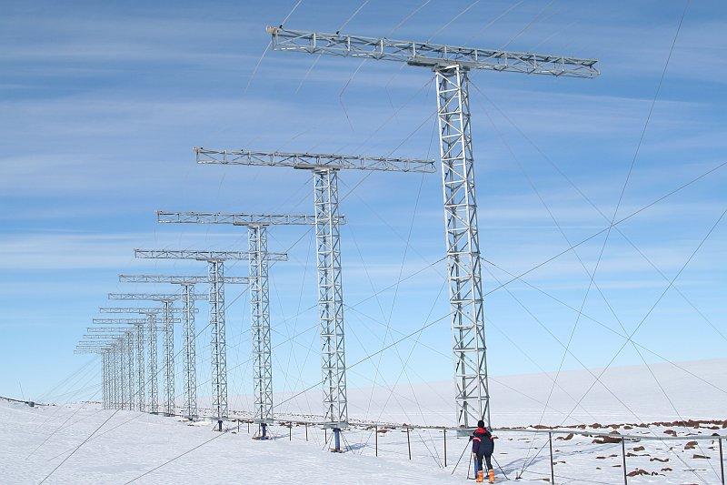 База Санаэ Антарктида ZS7V ZS7HPM DX Новости КВ радар