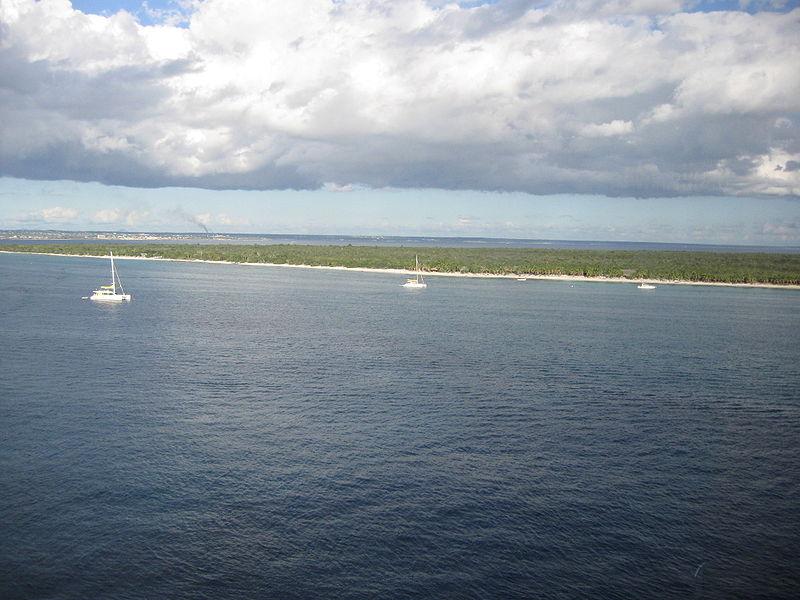 Santa Catalina Island Dominican Republic HI2/HB9OAU