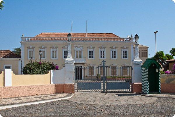 Santiago Island Cabo Verde D44TXT President Palace