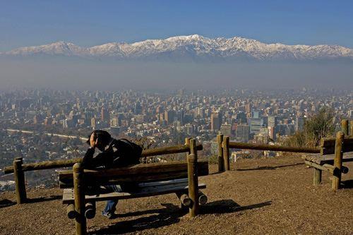 Сантьяго Чили CE3/VE3SV Анды