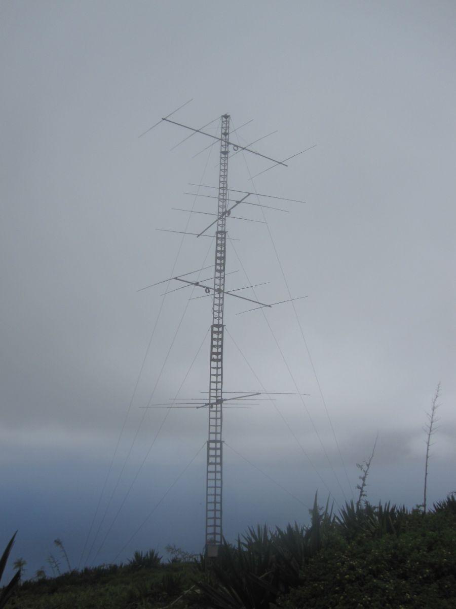 Sao Vicente Island Cabo Verde Cape Verde D4C 10m Antennas