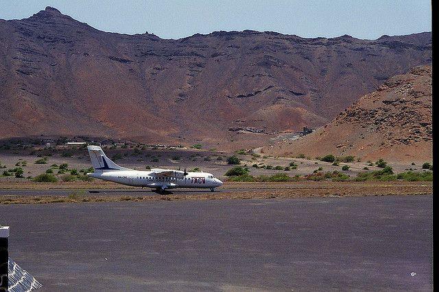 Sao Vicente Island Cabo Verde Cape Verde D44TLL Mindelo Airport