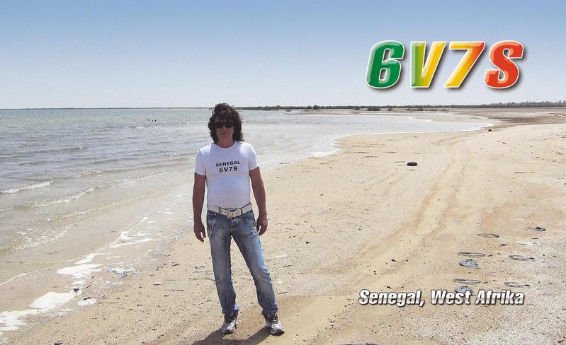 Senegal 6V7S 2013 QSL 1