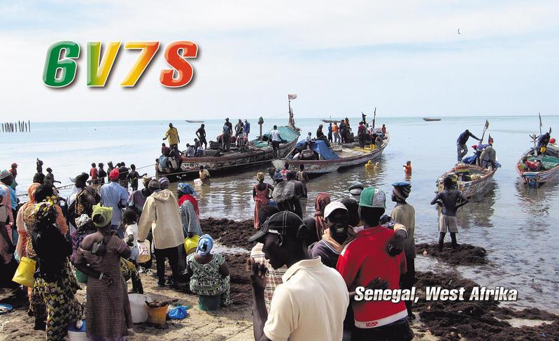 Senegal 6V7S 2013 QSL 4