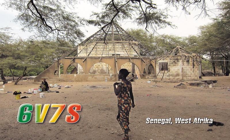 Senegal 6V7S 2013 QSL 5