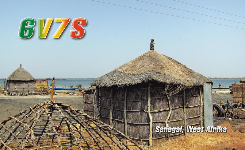 Senegal 6V7S 2013 QSL 6