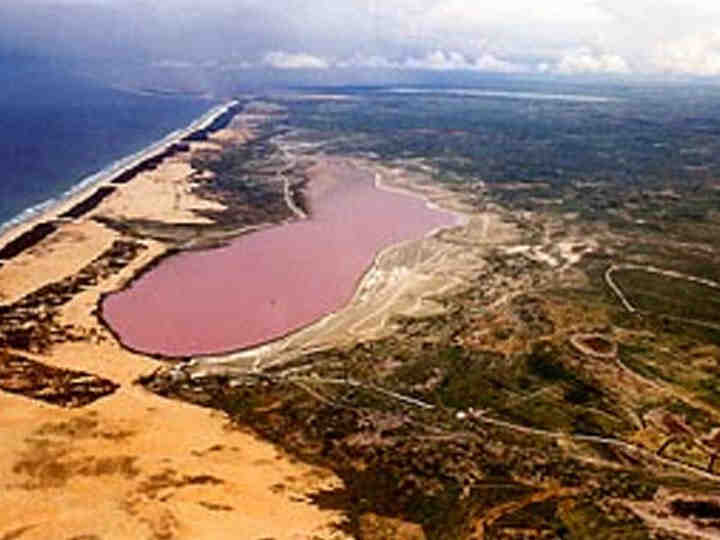 Senegal 6V7T Pink Lake
