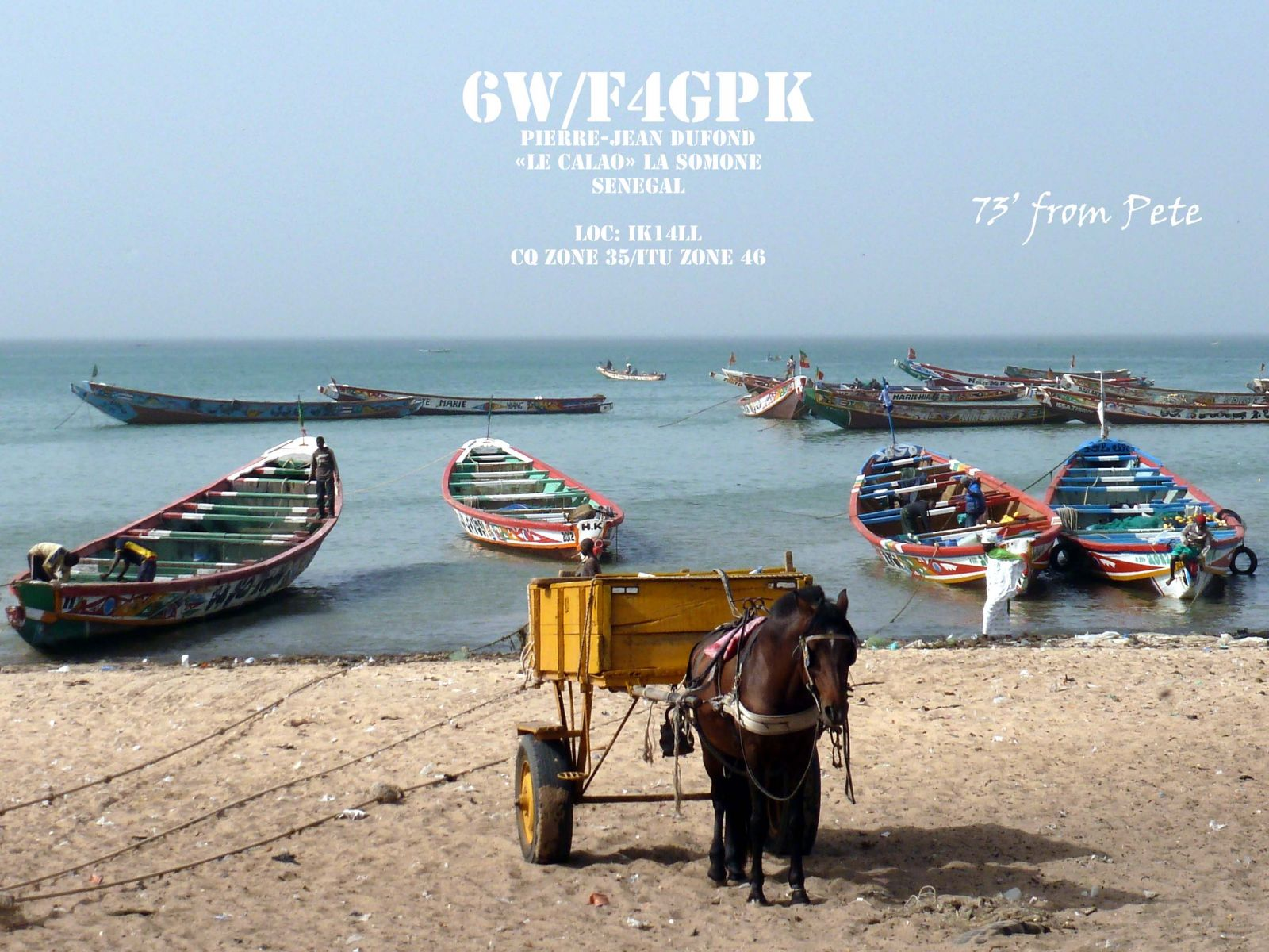 Senegal 6W/F4GPK