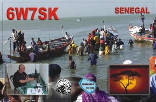 Сенегал 6W7SK