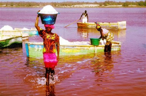 Сенегал 6V7Z 2012 Розовое Озеро