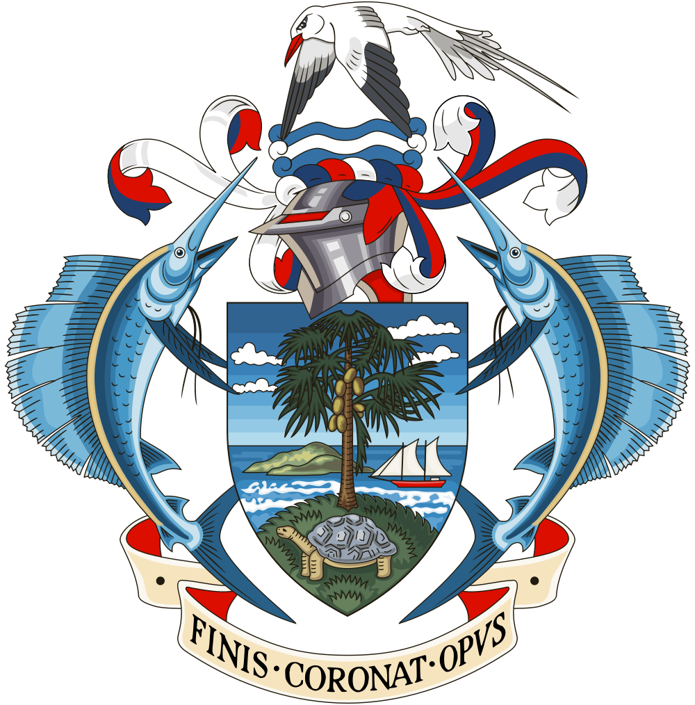 Seychelles Coat of Arms of the Republic of Seychelles