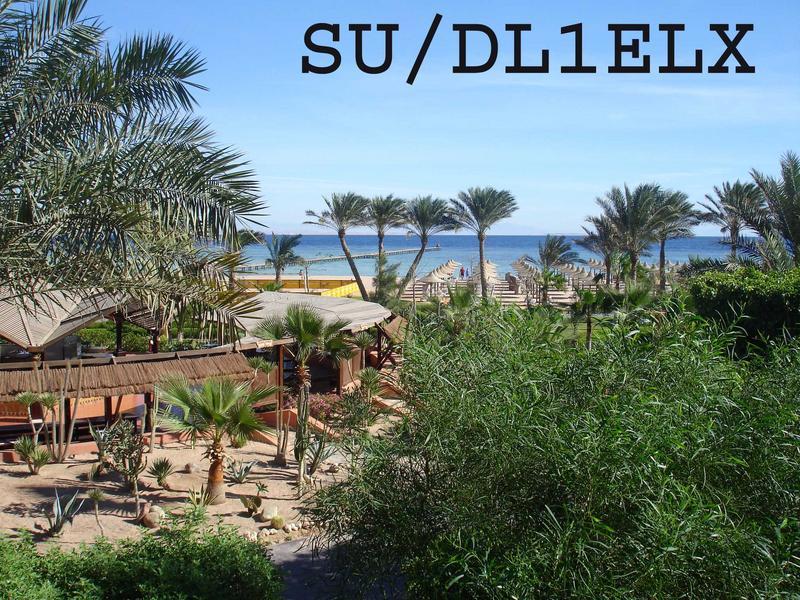 Sharm El Sheikh Egypt SU/DL1ELX