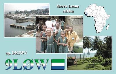 Сьерра Леоне  9L0W