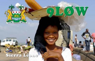 Sierra Leone 9L0W QSL