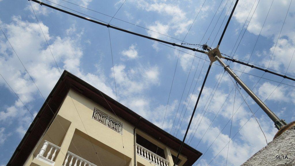 Sierra Leone 9L1A News Antenna