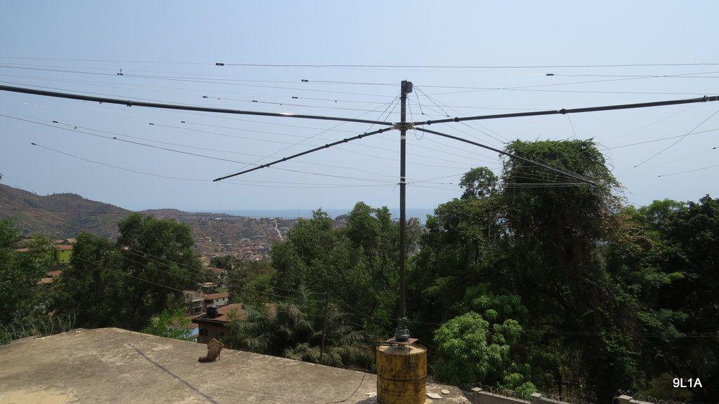 Sierra Leone 9L1A News Antenna 2