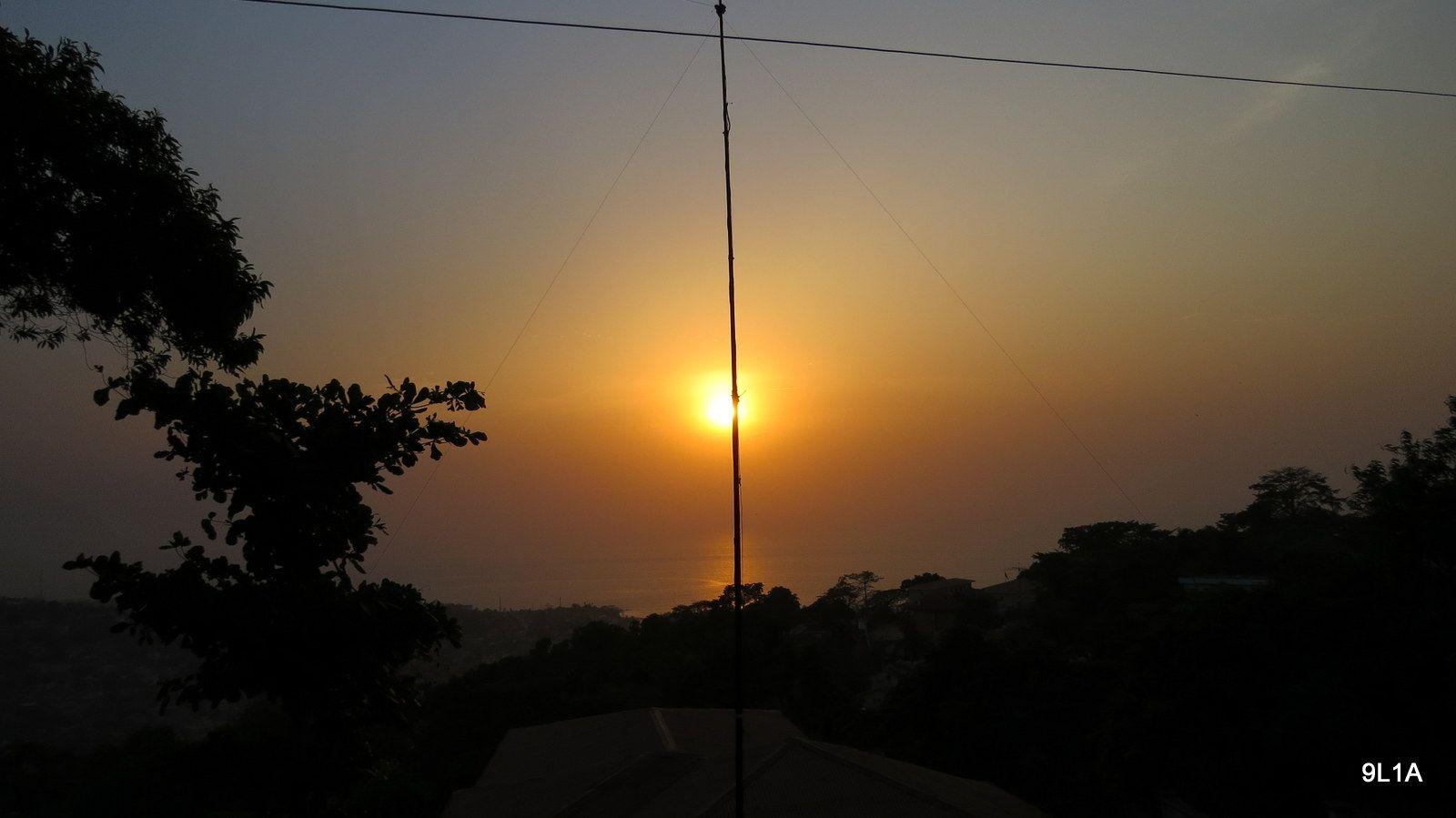 Sierra Leone 9L1A News Antenna 3