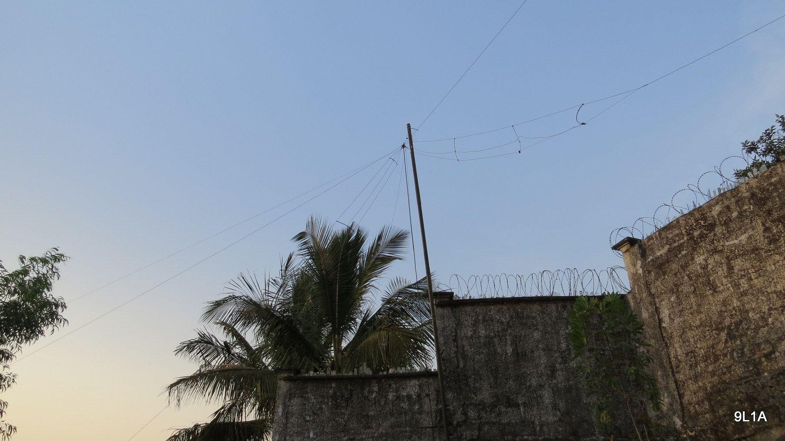 Sierra Leone 9L1A News Antenna 4