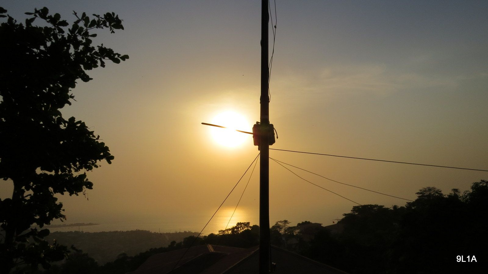 Sierra Leone 9L1A News Antenna 5