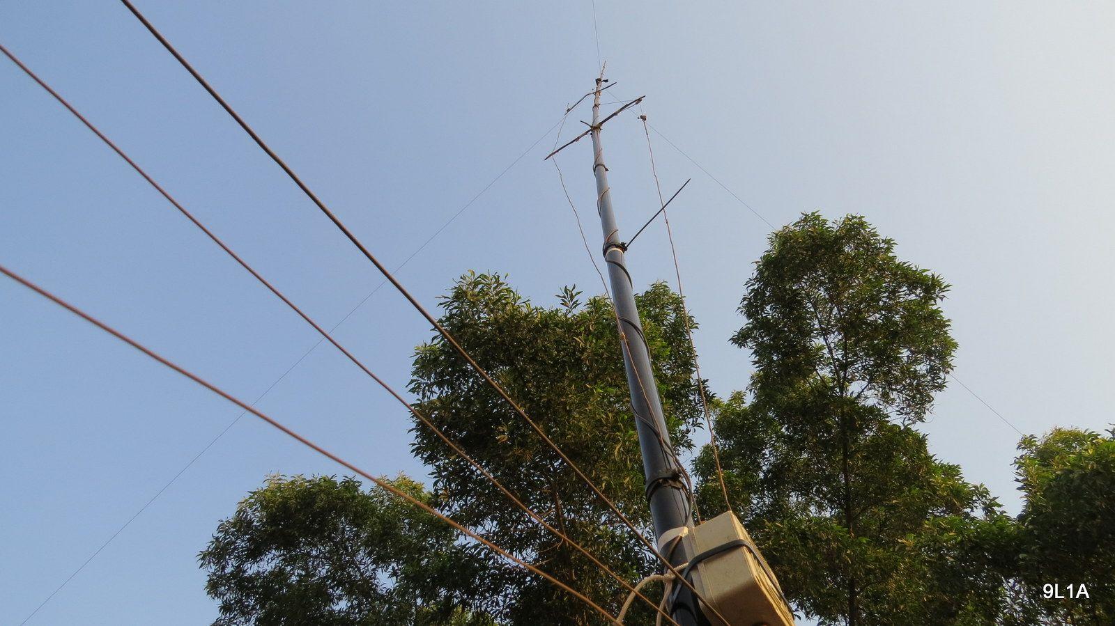 Sierra Leone 9L1A News Antenna 6