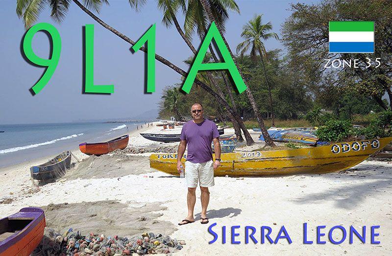 Sierra Leone 9L1A QSL