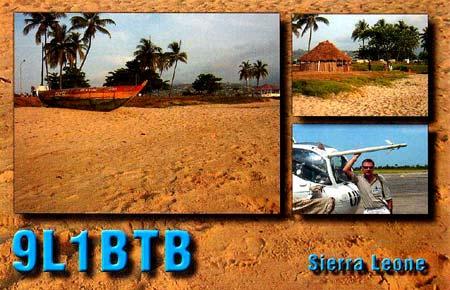 Сьерра Леоне 9L1BTB