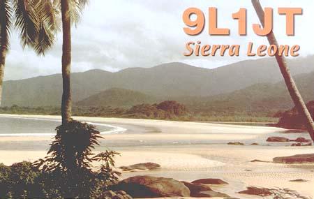 Sierra Leone 9L1JT QSL
