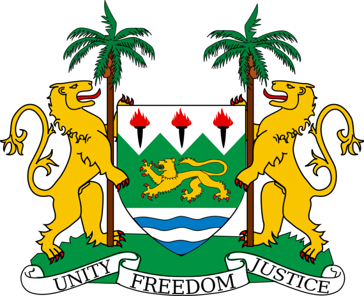 Sierra Leone Coat of Arms 9L1JT