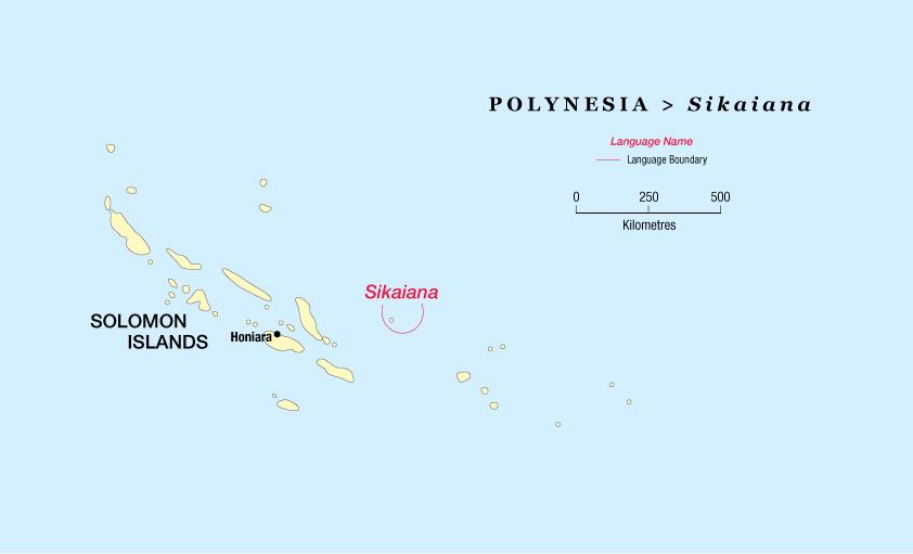 Атолл Сикаиана H44S H44AJ DX Новости Карта Соломоновы острова