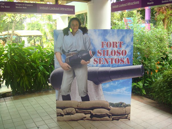 Singapore Sentosa Island Maria Teimurazova