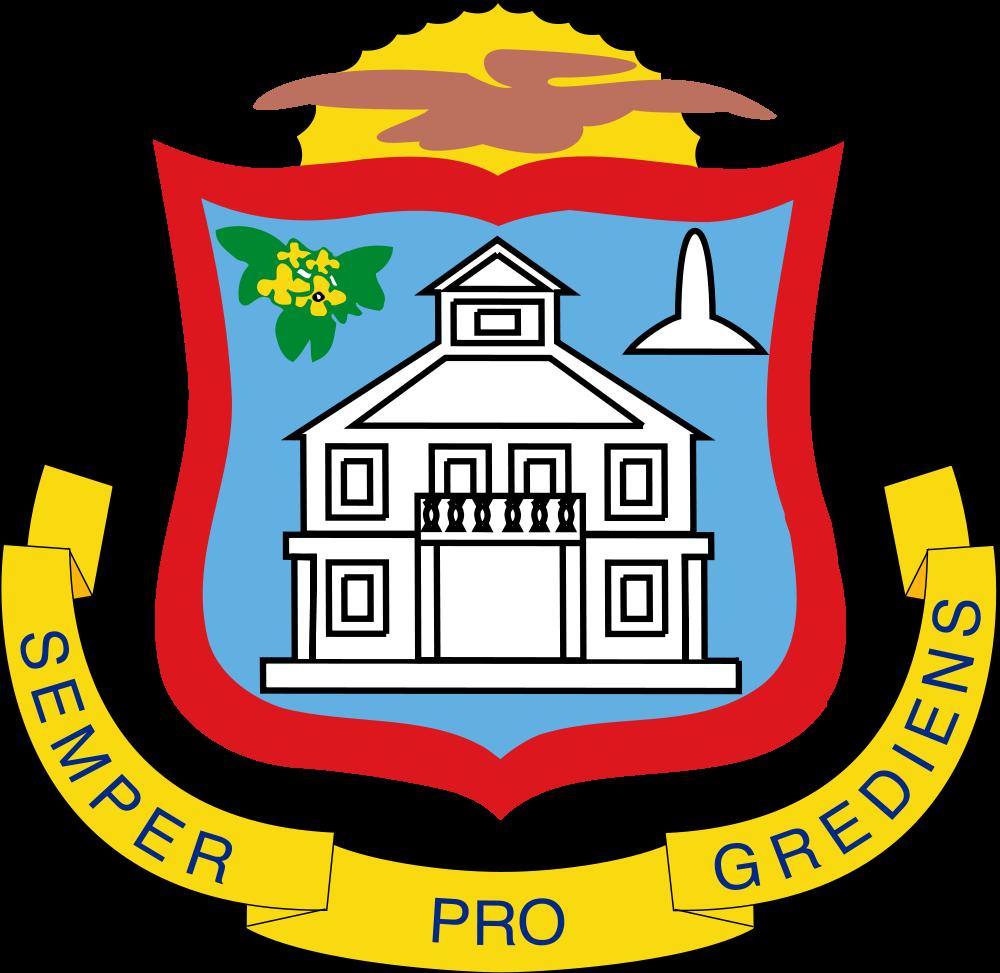 Sint Maarten Coat of Arms of Sint Maarten PJ7RV