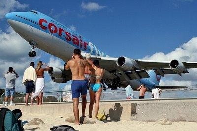 Sint Maarten DX News PJ7/W8EB PJ7B Airport