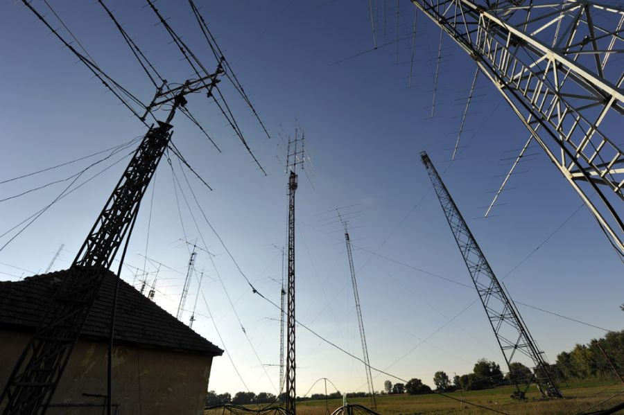 Slovak Republic OM8A View Antenna Farm