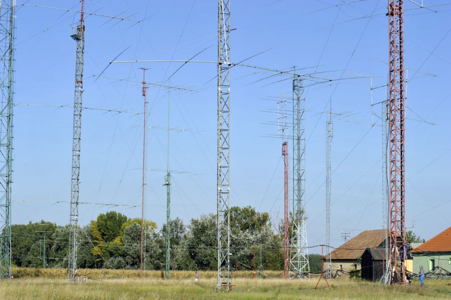 Slovak Republic OM8A Towers and Antennas
