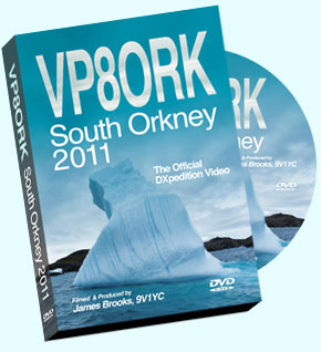 South Orkney Island VP8ORK Video