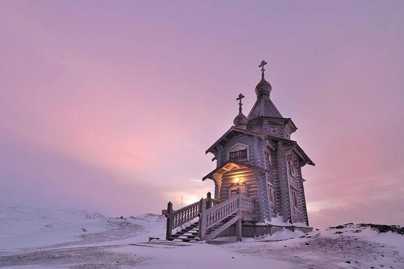 Южно Шетландские острова RI20ANT DX Новости Православный Храм