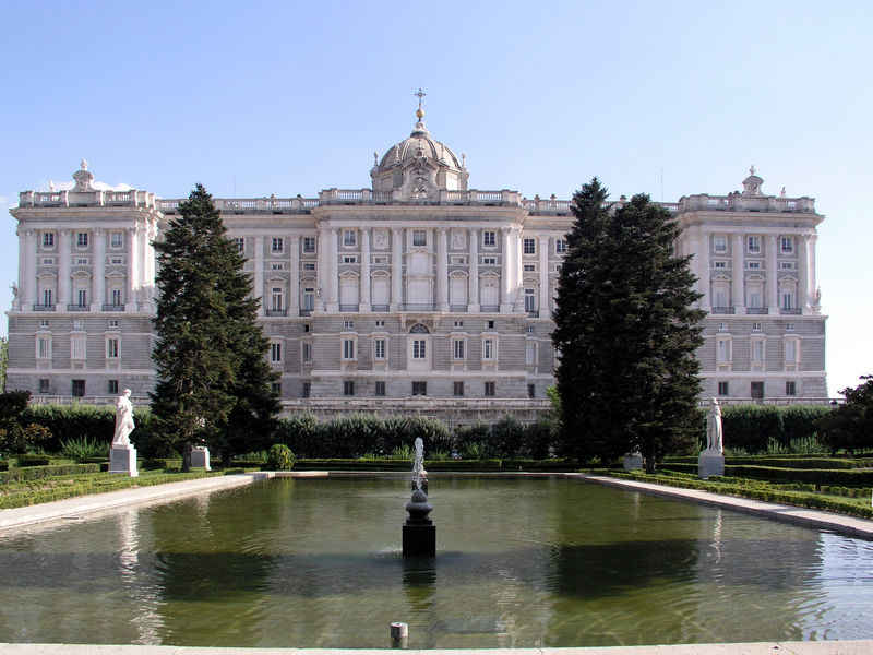 Spain ED1R Royal Palace Madrid