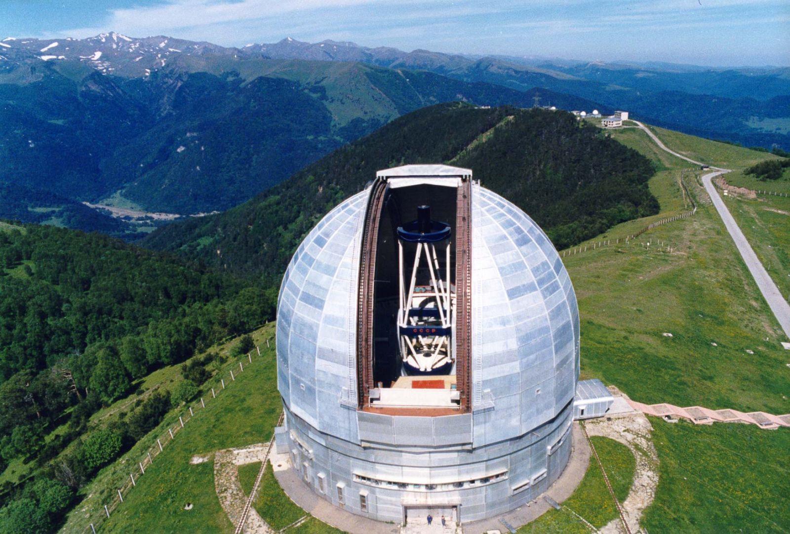 Специальная Астрофизическая Лаборатория БТА