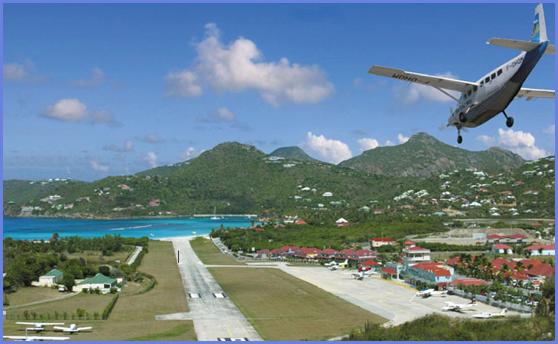 Остров Сент Бартелеми FJ/W7TAE Аэропорт