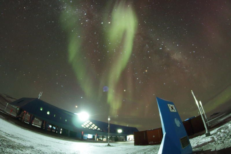 Станция Джанг Бого Антарктида D8A DX Новости Фото