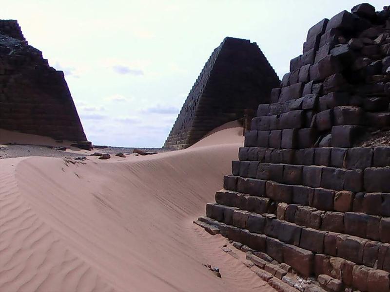 Sudan Meroe Pyramids ST2AR