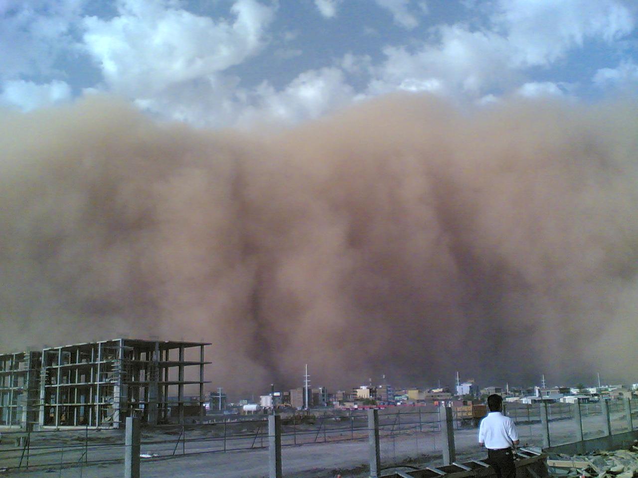 Песчаная Буря Хартум Судан ST2OUK